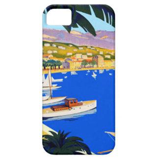 Vintage Cote D'Azur Travel iPhone 5 Cover