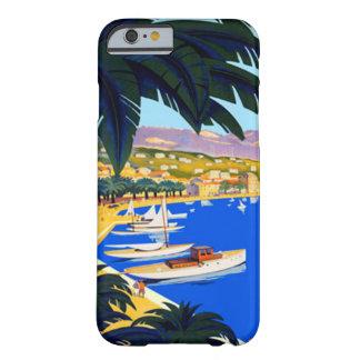 Vintage Cote D'Azur Travel iPhone 6 Case