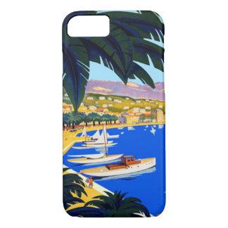Vintage Cote D'Azur Travel iPhone 7 Case