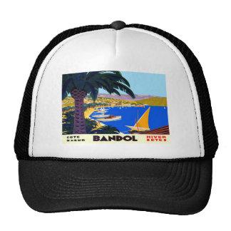 Vintage Cote D'Azur Travel Trucker Hat