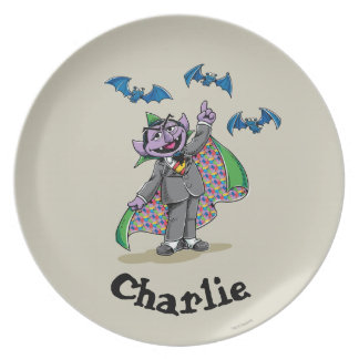 Vintage Count von Count | Add Your Name Plate