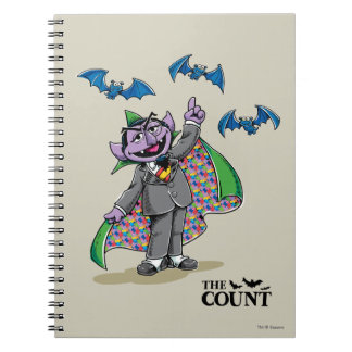 Vintage Count von Count Notebook