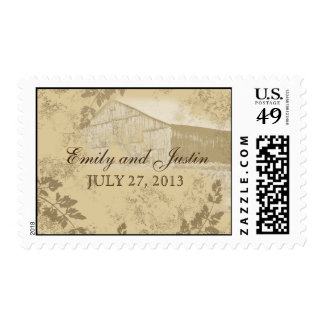 Vintage Country Barn Stamp