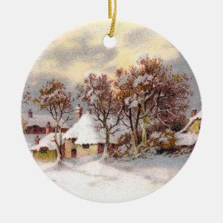 Vintage Country Christmas Christmas Tree Ornament