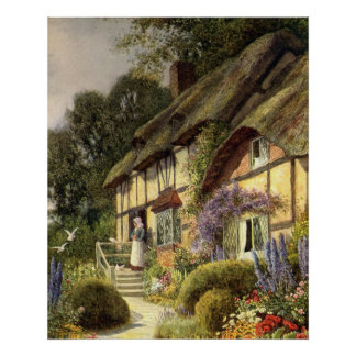 Vintage Country Cottage Bed and Breakfast Inn Posters