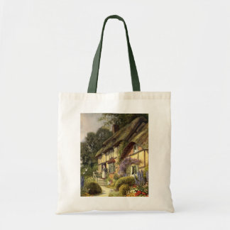 Vintage Country Cottage Bed and Breakfast Inn Tote Bag