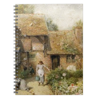 Vintage Country Cottage ~ Chores Notebook