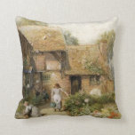 Vintage Country Cottage ~ Chores Pillow Pillows