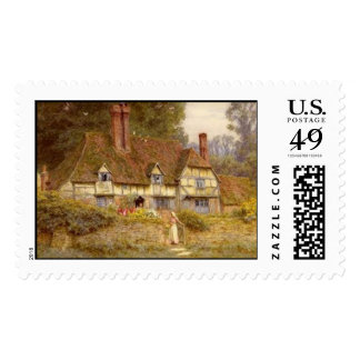 Vintage Country Estate Postage