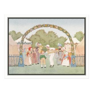Vintage Country Fair by H. Willebeek Le Mair Postcard