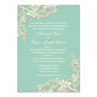 Vintage Country Floral Changeable Color Personalized Announcements