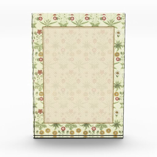Vintage Country Floral Pattern Award