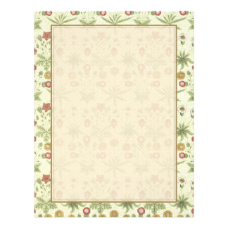 Vintage Country Floral Pattern Flyer