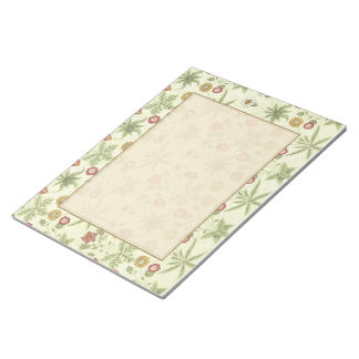 Vintage Country Floral Pattern Note Pad