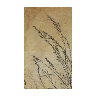 Vintage Country Series: Grass Gallery Wrapped Canvas