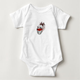 Vintage Country Store Produce Artwork Baby Bodysuit