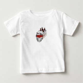 Vintage Country Store Produce Artwork Baby T-Shirt
