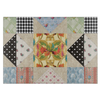 Vintage Country Style Evening Star Quilt Pattern Cutting Boards