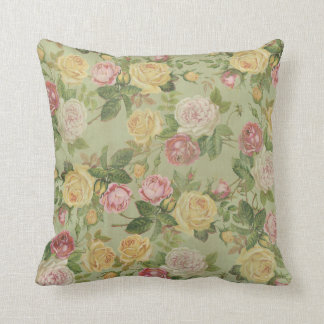 Vintage Country Weathered Floral Pillows