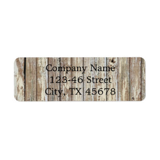vintage country wood grain construction business label