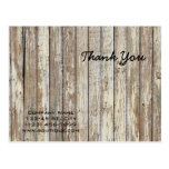 vintage country wood grain construction business postcard