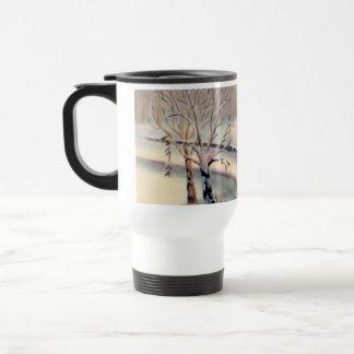 Vintage Countryside Christmas Travel Mug