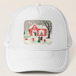 Vintage Countryside Greetings Hat