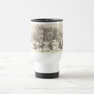 Vintage Countryside Travel Mug