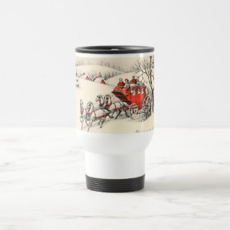 Vintage Countryside Travel Mug