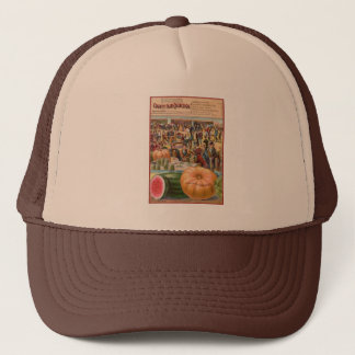 Vintage County Fair Seed Packet Truckers Hat
