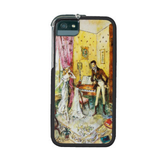 Vintage Couple In A Room iPhone 5/5S Cases