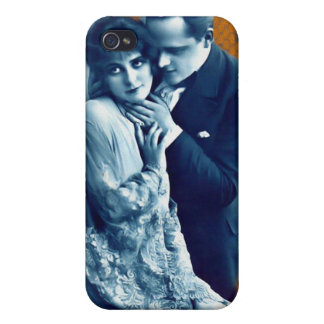 Vintage Couple Iphone 4 Cover For iPhone 4