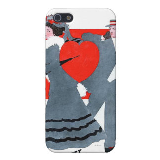 Vintage Couple iPhone SE/5/5s Cover