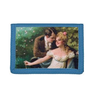 Vintage Couple Tri-fold Wallets