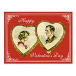 Vintage Couple Valentine's,Wedding,Anniversary PC Post Cards