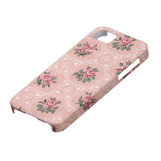 Vintage cover with flowers