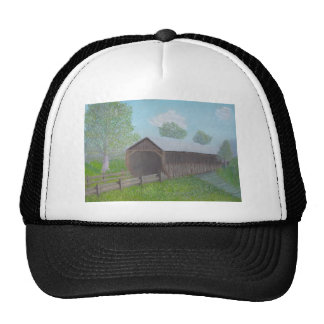 Vintage Covered Bridge Trucker Hat