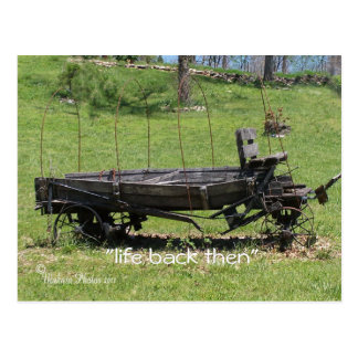 Vintage Covered Wagon- customize Postcard