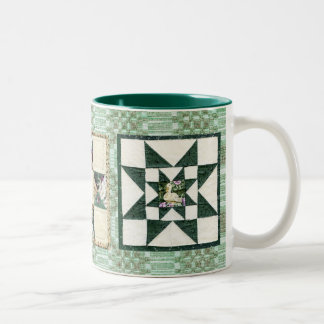 Vintage Coverlets and Quilts Mug II