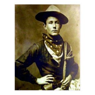 Vintage Cowboy 17 Postcard