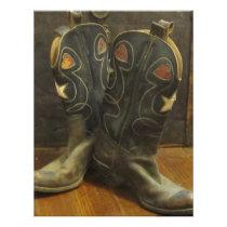 Vintage Cowboy Boots Letterhead