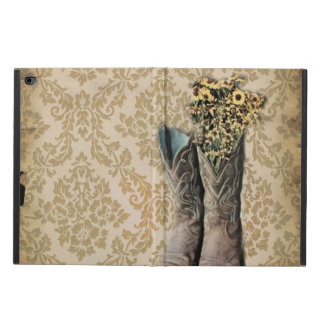 vintage cowboy boots western country powis iPad air 2 case