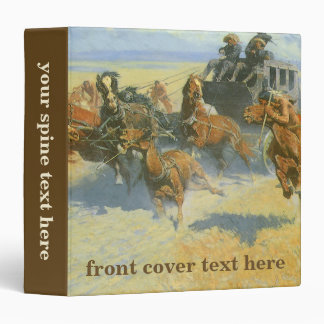 Vintage Cowboy, Downing the Nigh Leader, Remington Binder