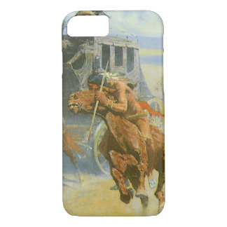 Vintage Cowboy, Downing the Nigh Leader, Remington iPhone 7 Case