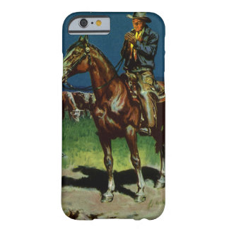 Vintage Cowboy, Farming Cattle Rancher on the Farm Barely There iPhone 6 Case