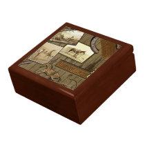 Vintage Cowboy Jewlery Box