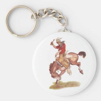 Vintage Cowboy Key Chains