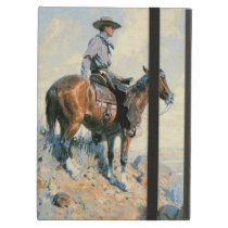 Vintage Cowboy, Sentinel of the Plains By Dunton iPad Air Cover