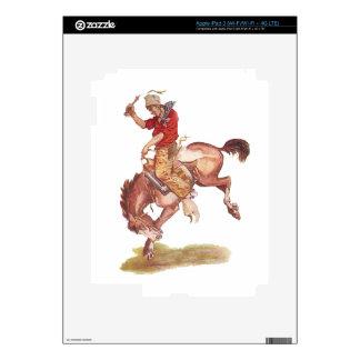 Vintage Cowboy Skins For iPad 3