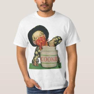 Vintage Cowboy Toy Gun Hand in the Cookie Jar T-Shirt